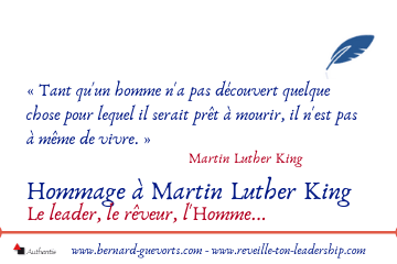 Couverture article hommage MLK