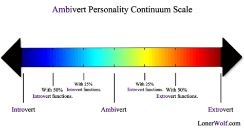 Introversion et extraversion