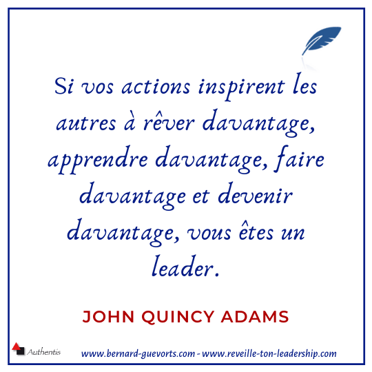 Citation sur le leader qui inspire