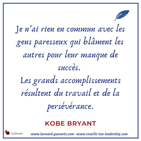 Citation de Kobe Bryant