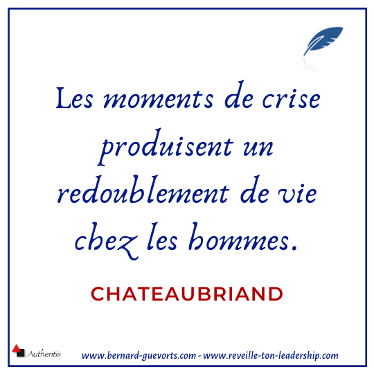 Citation de Chateaubriand sur la crise