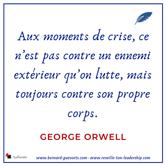 Citation sur la crise de Orwell