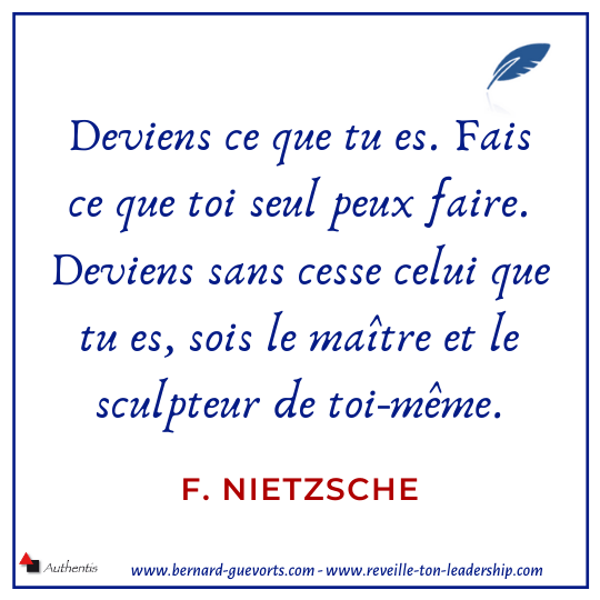 Citation de Nietzsche sur devenir soi