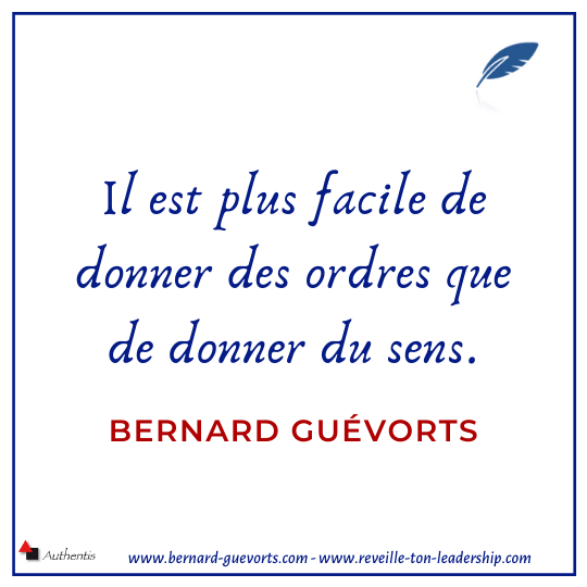 Citation sur donner du sens
