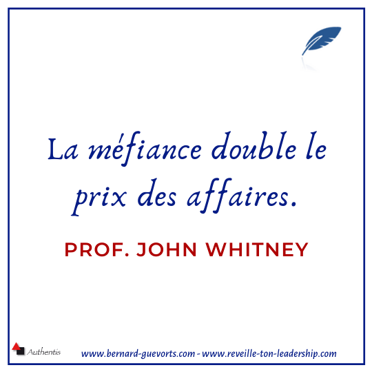 Citation sur la méfiance