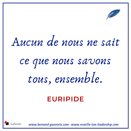 Citation d'Euripide sur le collaboratif