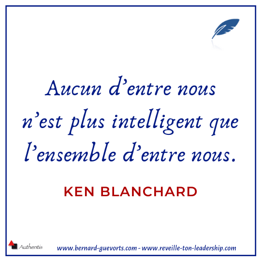 Citation de Ken Blanchard sur le collaboratif