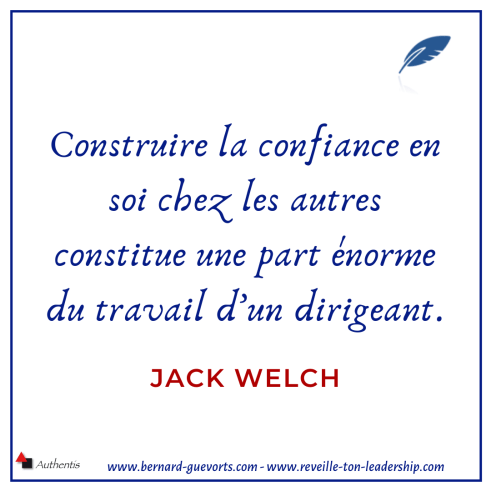 Citation sur la confiance de Jack Welch