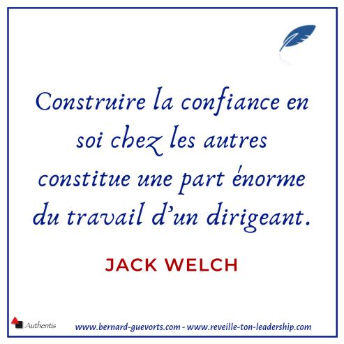Citation sur la confiance de Jack Welch