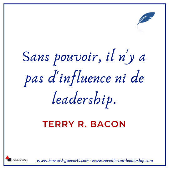 Citation sur le pouvoir et l'influence de Terry bacon