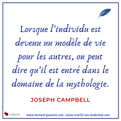 Citation de Joseph Campbell sur le héros