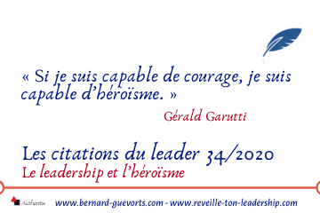 Couverture de l'article sur les citations leadership et héroïsme