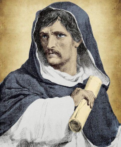 peinture de Giordano Bruno
