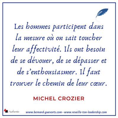 Citation de Michel Crozier