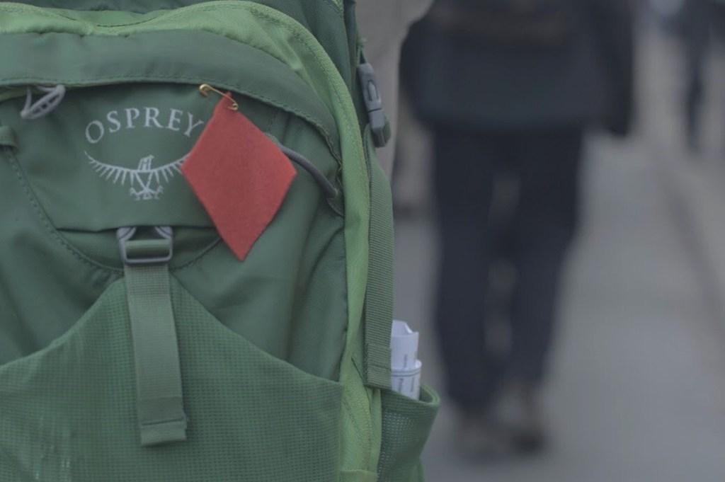 El cuadrado rojo, el símbolo de la movilización estudiantil.