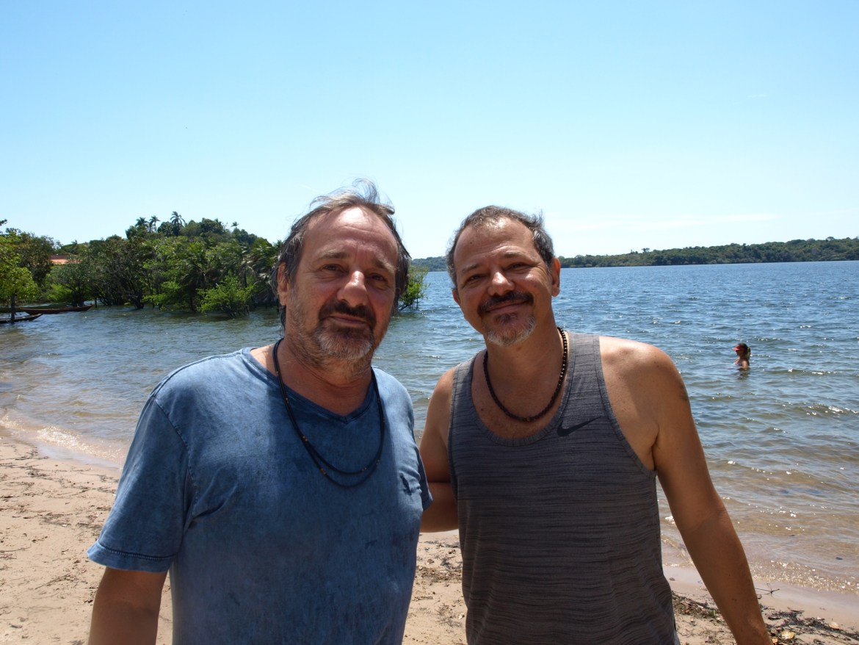 Eugenio (links) und Caetano Scannavino (rechts). Foto Livia Mata