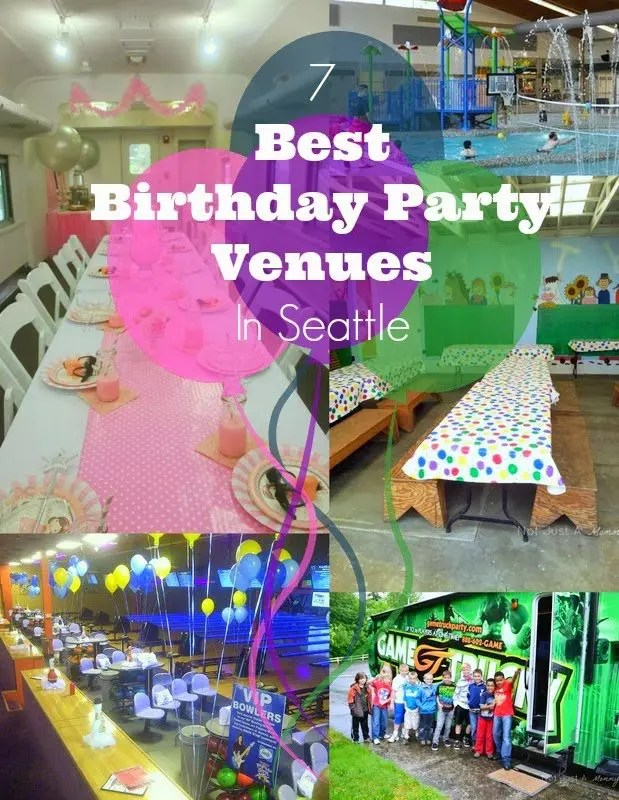 Best Birthday Party Venues In Seattle Revel And Glitter