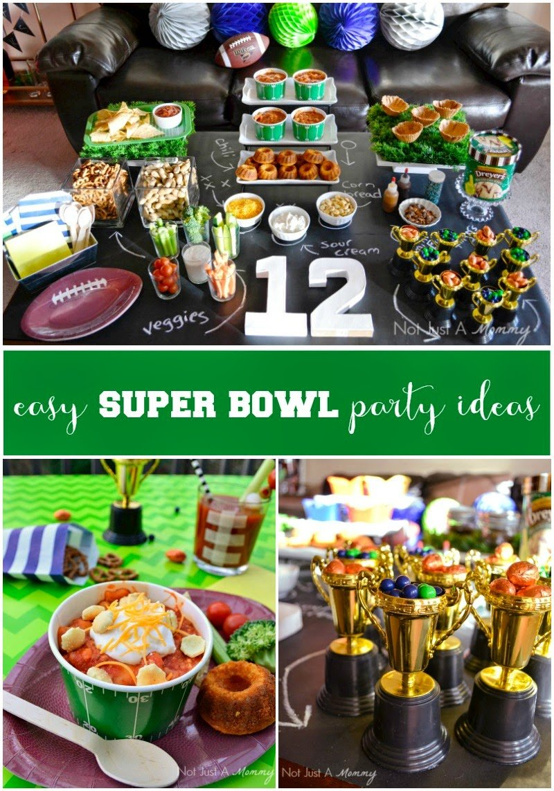 fiesta friday real party easy super bowl party ideas. Black Bedroom Furniture Sets. Home Design Ideas