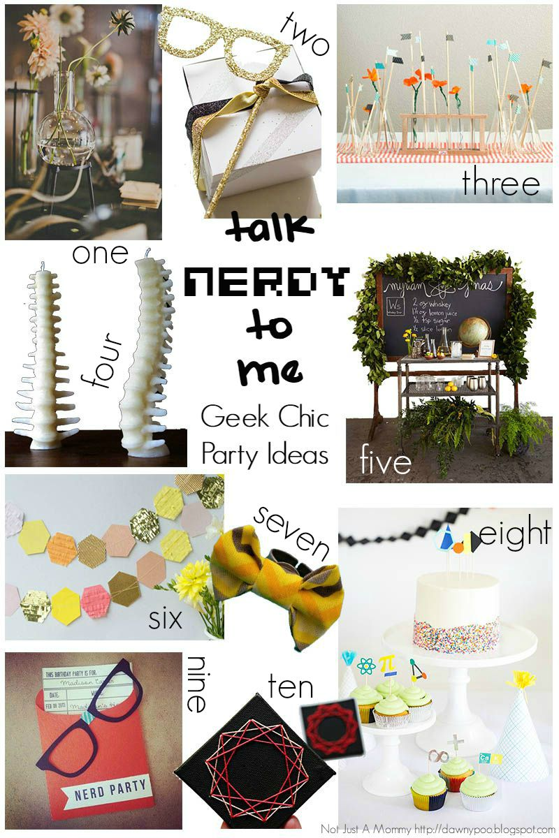 10 Geek Chic Party Ideas - Revel and Glitter