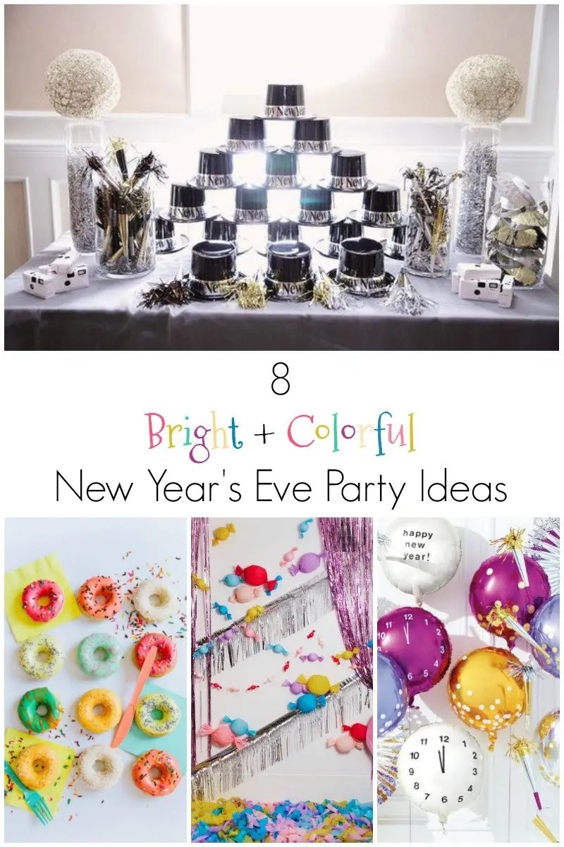 Bright + Colorful New Year\'s Eve Party Inspiration Board - Revel and ...