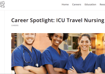 ICU Nursing Careers/Wiley: Article