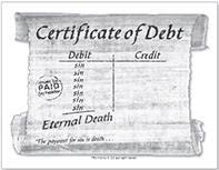 Certificate of Debt