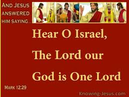 Our God is One Lord