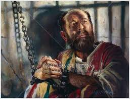 Paul in chains