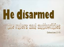 Disarmed Rulers and Authorities