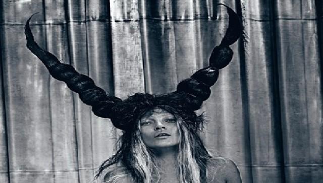 Kate Moss: Demonic Photo Spread