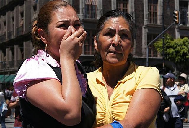 Mexico Earthquake: 7.6 & 7.9