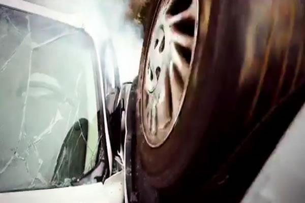 Car Crash: Angels Save Four People