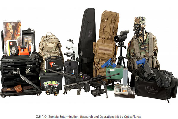 2012:The Ultimate Zombie Kit