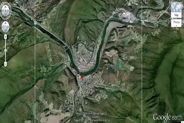 Narrows Google Map Link to Batman Movie?