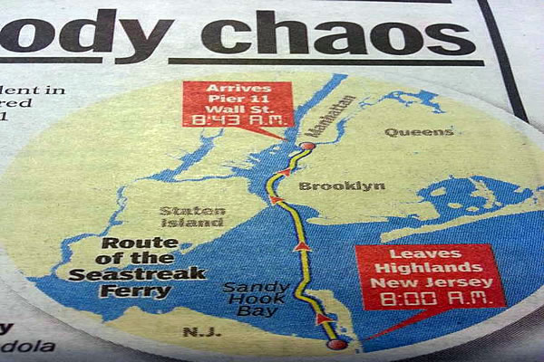 NYC Ferry Crash Links to SANDY HOOK