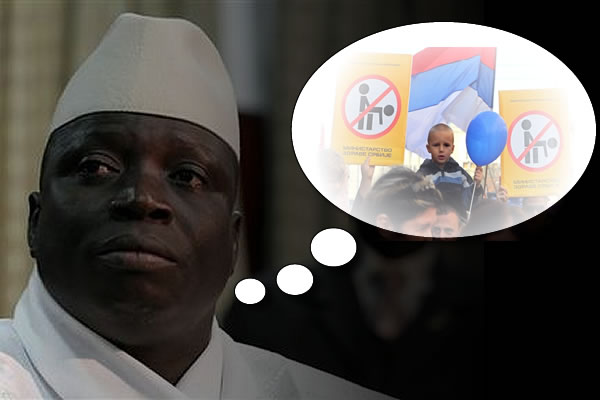 President of Gambia: Says Gays are Satanic!