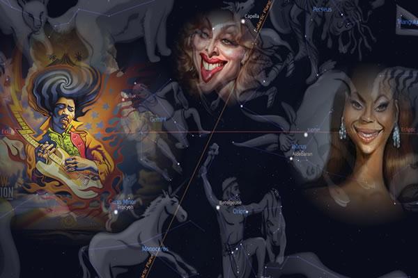 Jimi Hendrix, Madonna, Beyonce and Star-Gates