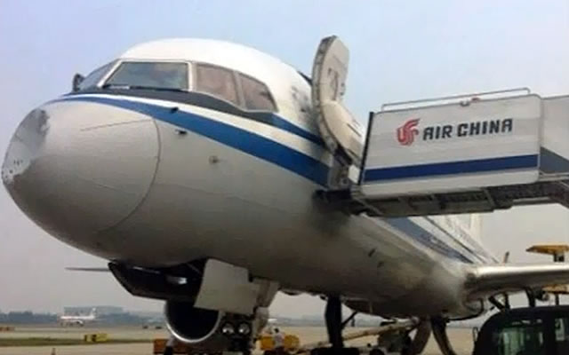UFO Collides with Chinese Air Liner