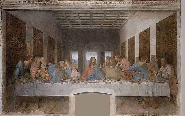 The Devil in The Last Supper?