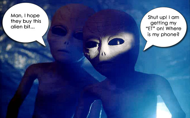 Fake Alien Invasions and The Second Coming