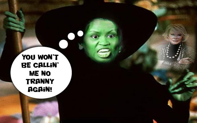 Occult Revenge on Joan Rivers for Tranny Talk?