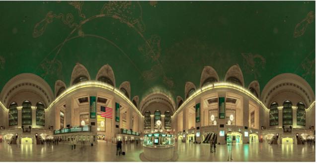 Grand Central Terminal Ceiling Zodiak