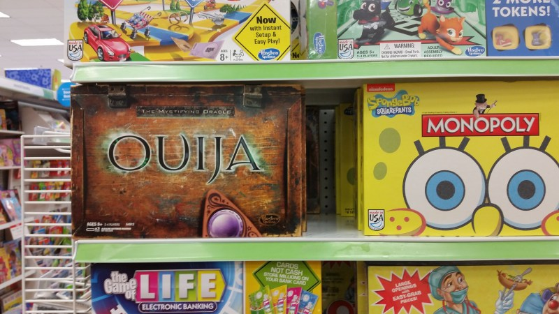 Toys-R-Us Sells Ouija Board to Children