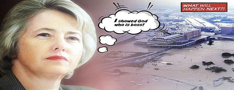 Houston Mayor and Her Biblical Flooding Connection