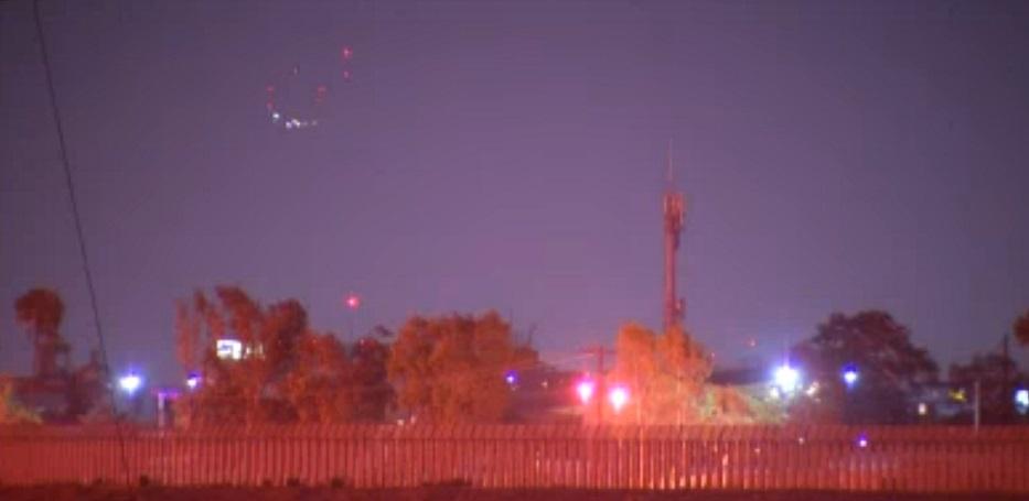 UFO over Coronado, California