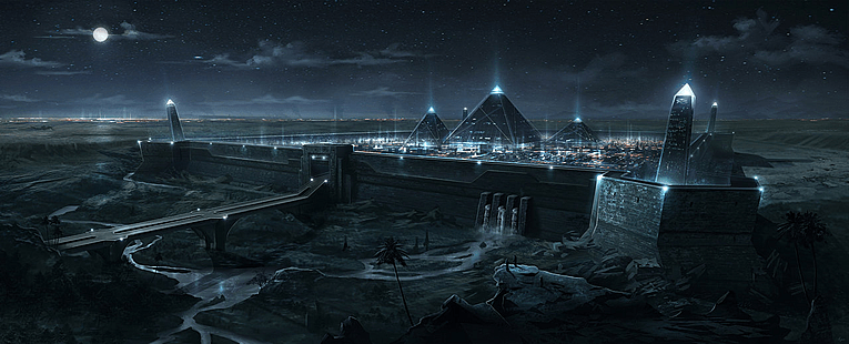 Ancient Pyramids Were High Frequency Power Stations