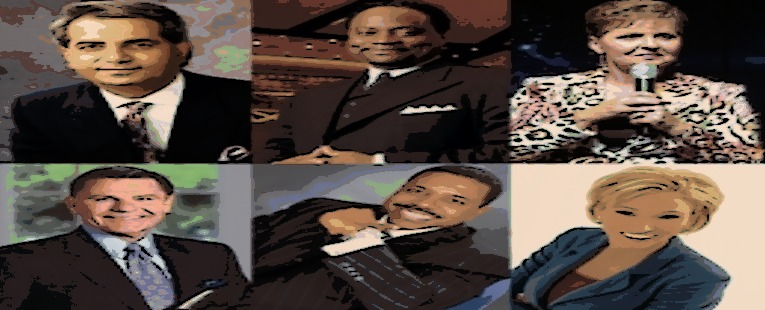 The Shady Bunch: Top 20 Corrupt Preachers in Black & White