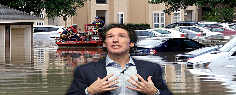 Inside of Joel Osteen's Church Flooded?