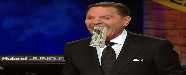 Filthy Rich Televangelist Kenneth Copeland Explains the God of Bling and Lear Jets