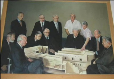 The Rothschild family funded and designed the Israeli Supreme Court building